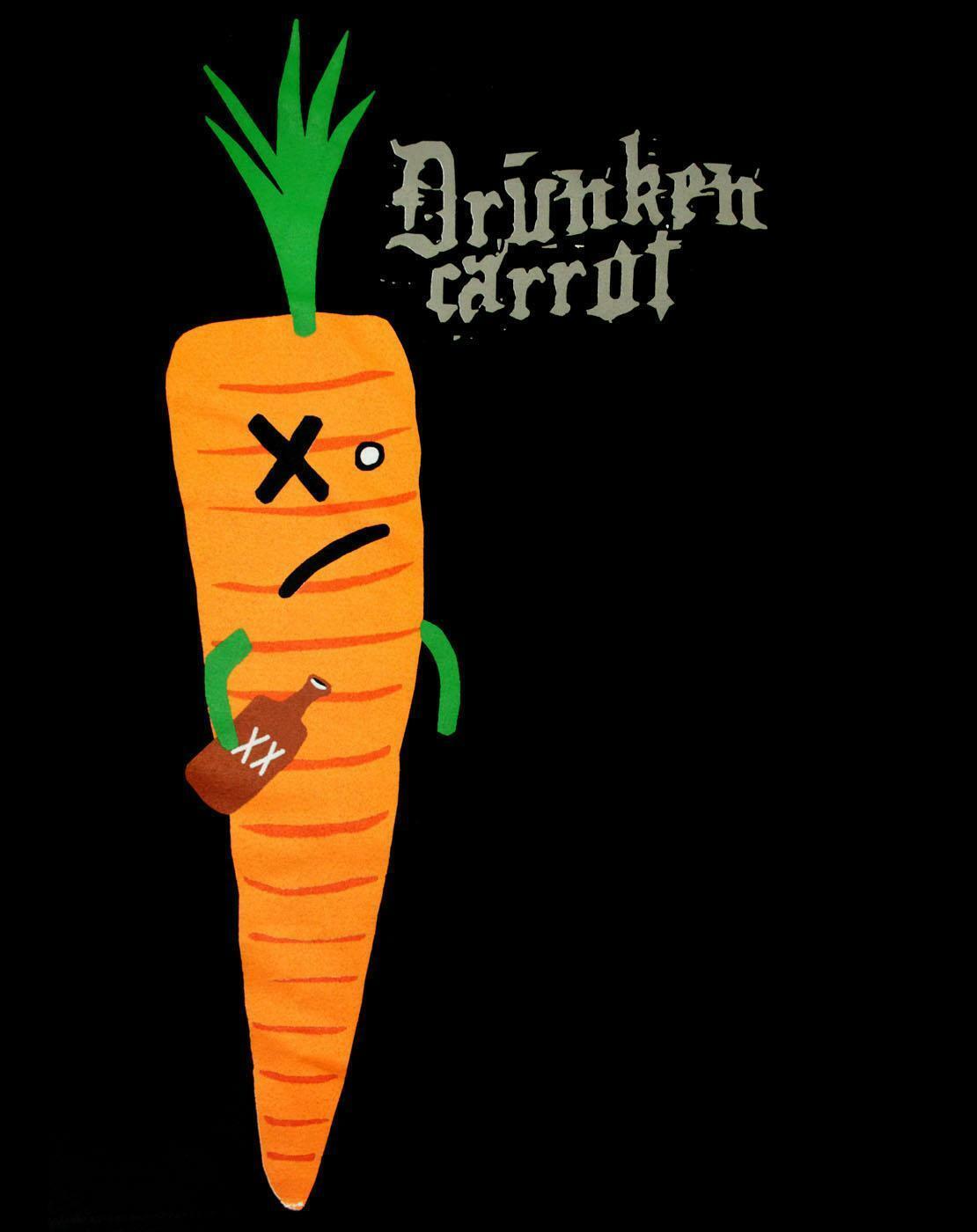 Mr-Toast-Drunken-Carrot-Women-039-s-T-Shirt thumbnail 6