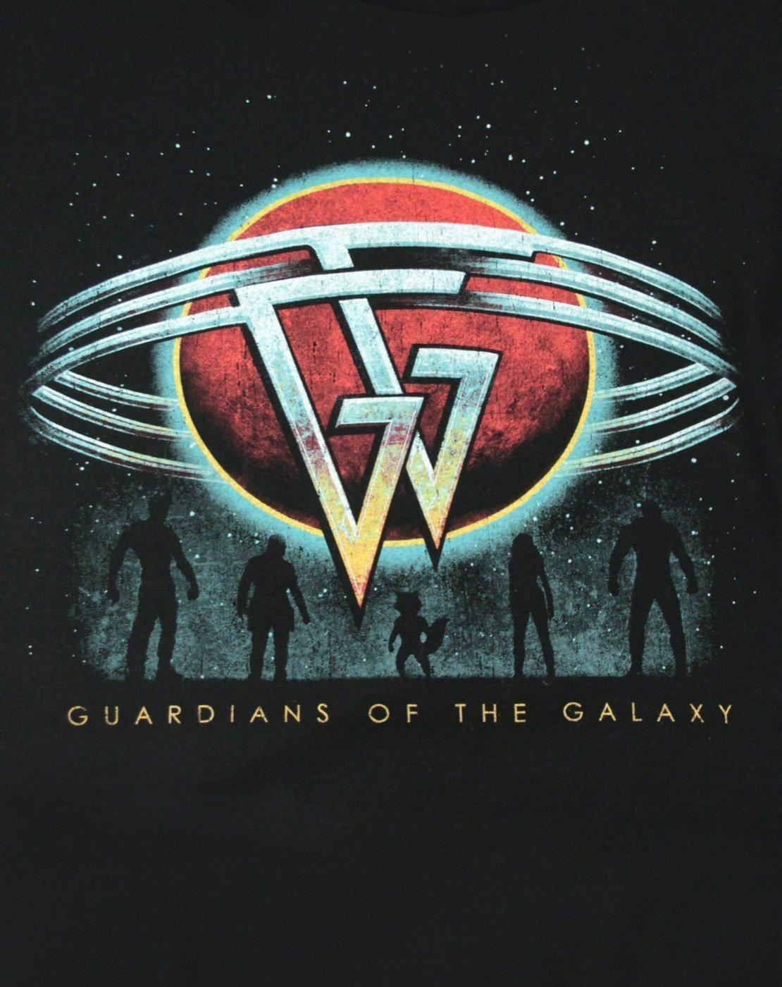Guardians-Of-The-Galaxy-Planet-Women-039-s-T-Shirt thumbnail 6
