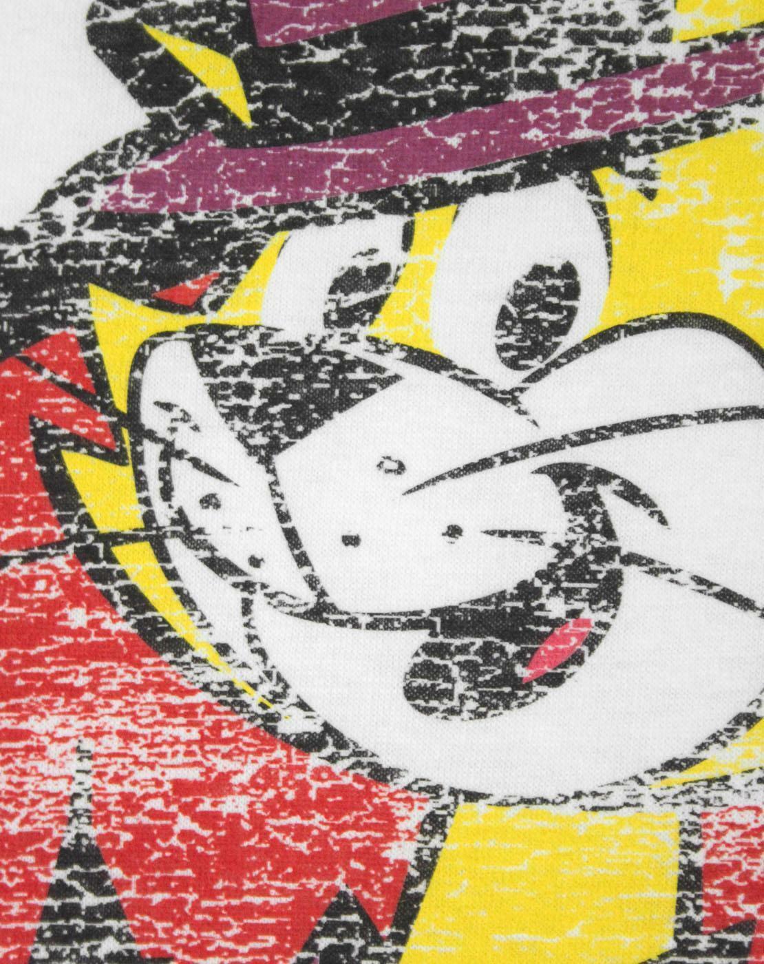 Top-Cat-Distressed-Women-039-s-T-Shirt thumbnail 7