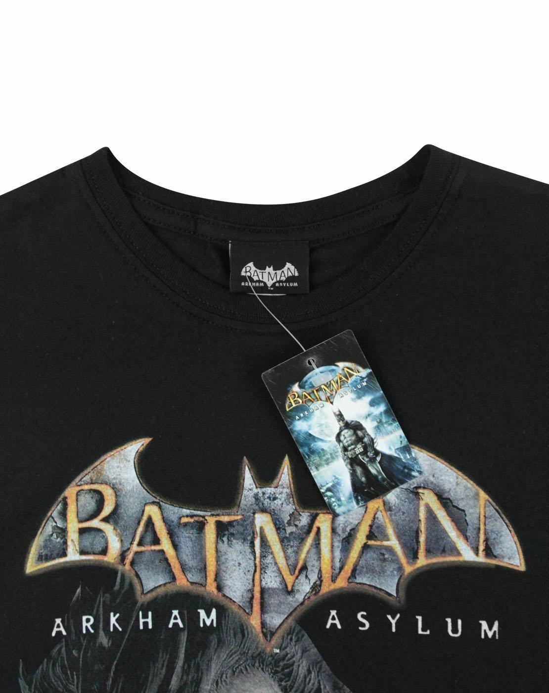 Batman-Arkham-Asylum-Joker-Women-039-s-T-Shirt thumbnail 8