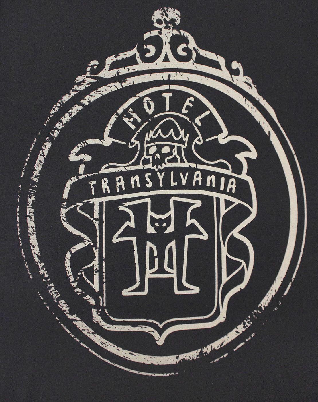 thumbnail 8 - Hotel-Transylvania-Logo-Glow-In-The-Dark-Women-039-s-T-Shirt