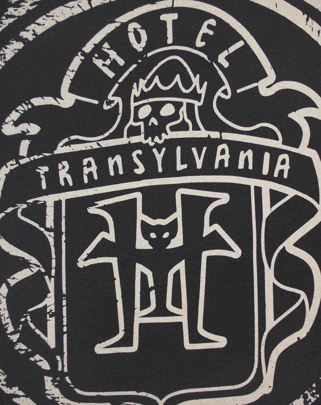 thumbnail 9 - Hotel-Transylvania-Logo-Glow-In-The-Dark-Women-039-s-T-Shirt