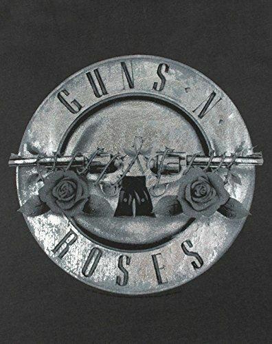Amplified-Guns-N-Roses-Foil-Drum-Women-039-s-T-Shirt thumbnail 8