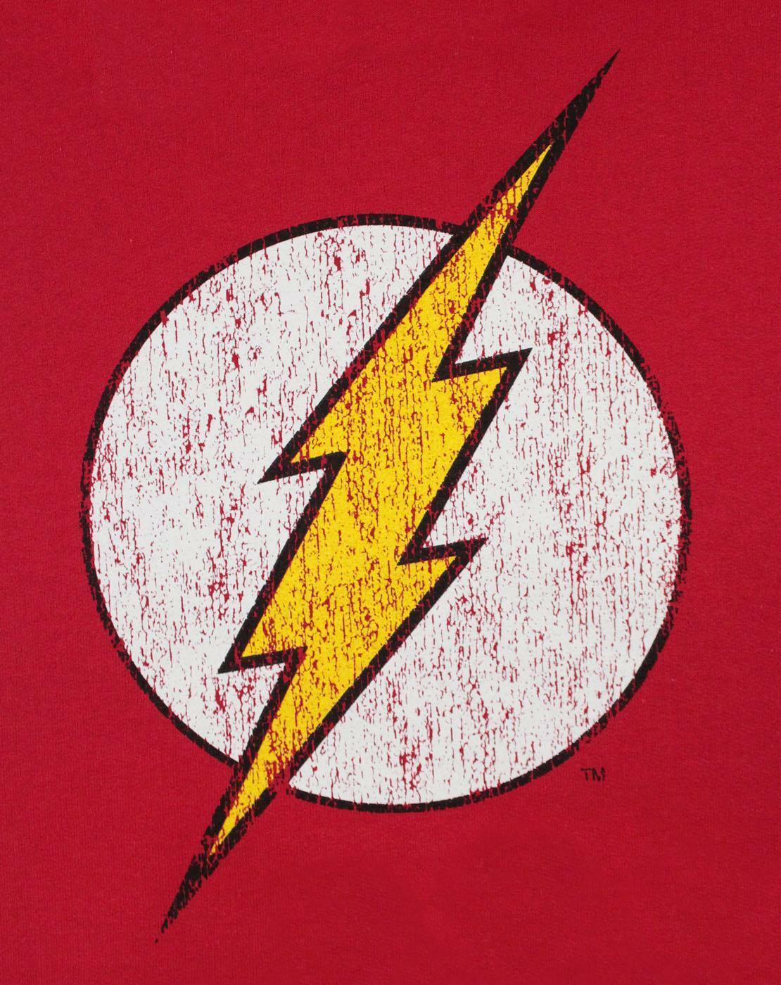 Flash-Distressed-Logo-Women-039-s-Hoodie thumbnail 6