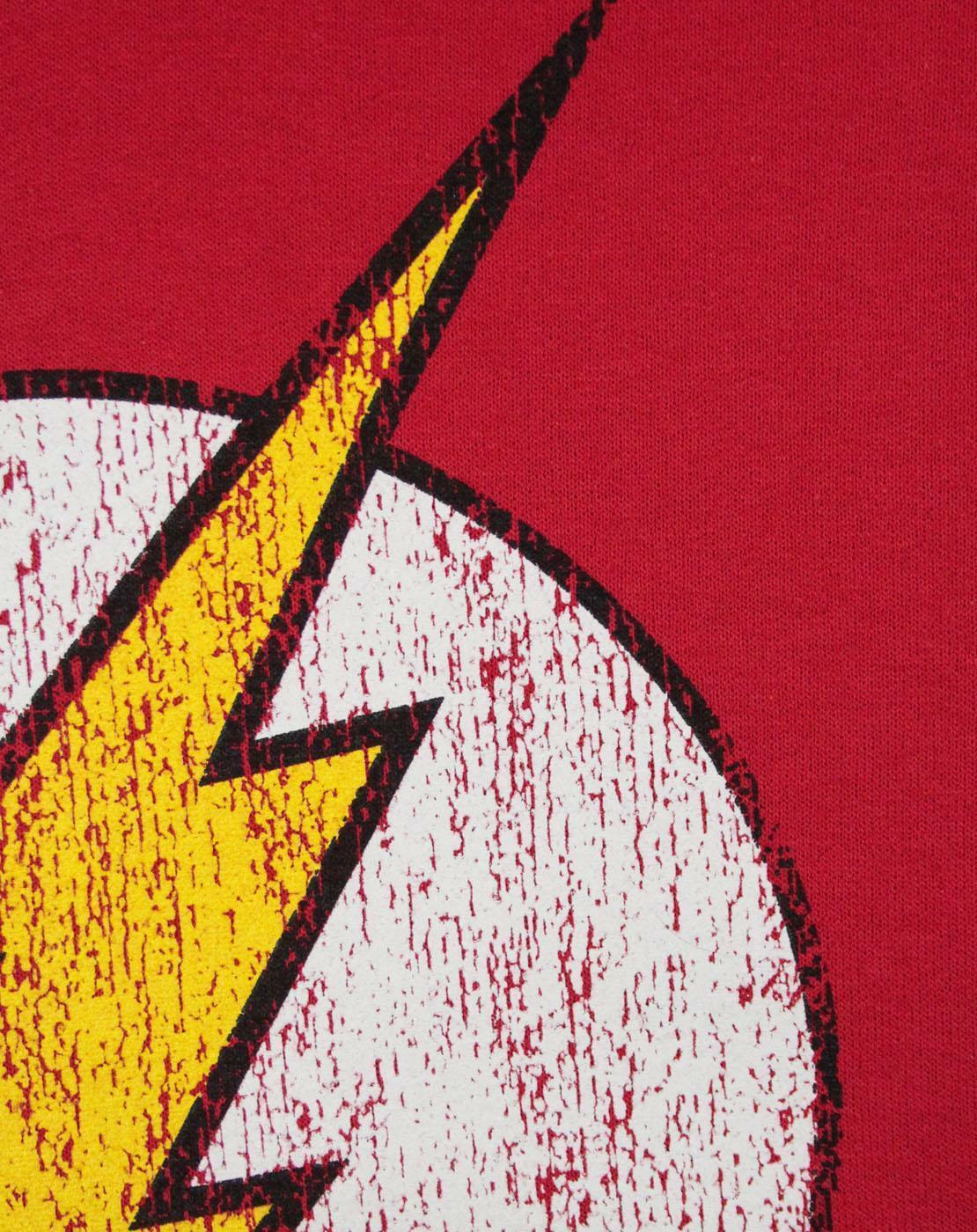 Flash-Distressed-Logo-Women-039-s-Hoodie thumbnail 7