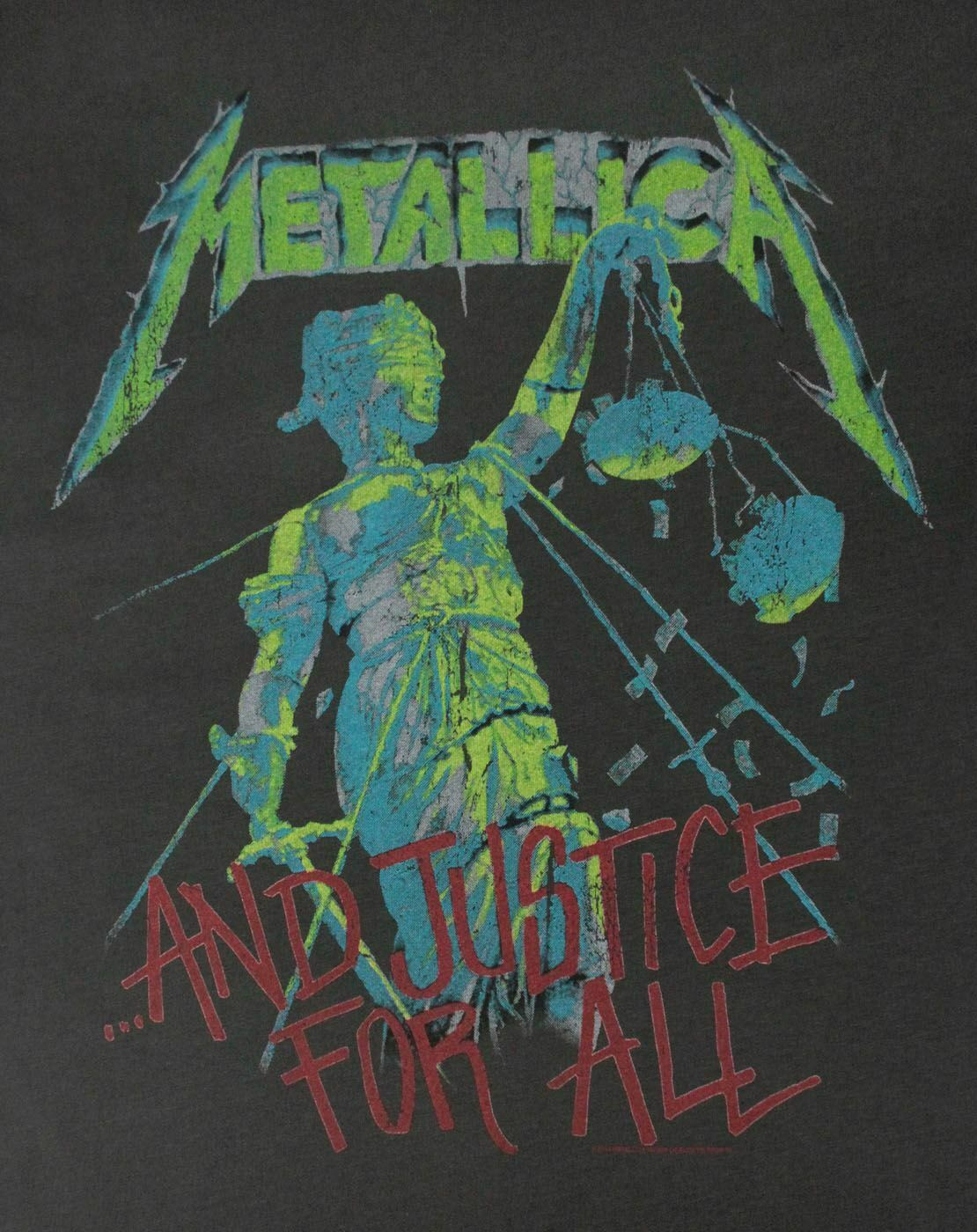 Amplified-Metallica-Justice-For-All-Women-039-s-T-Shirt thumbnail 7