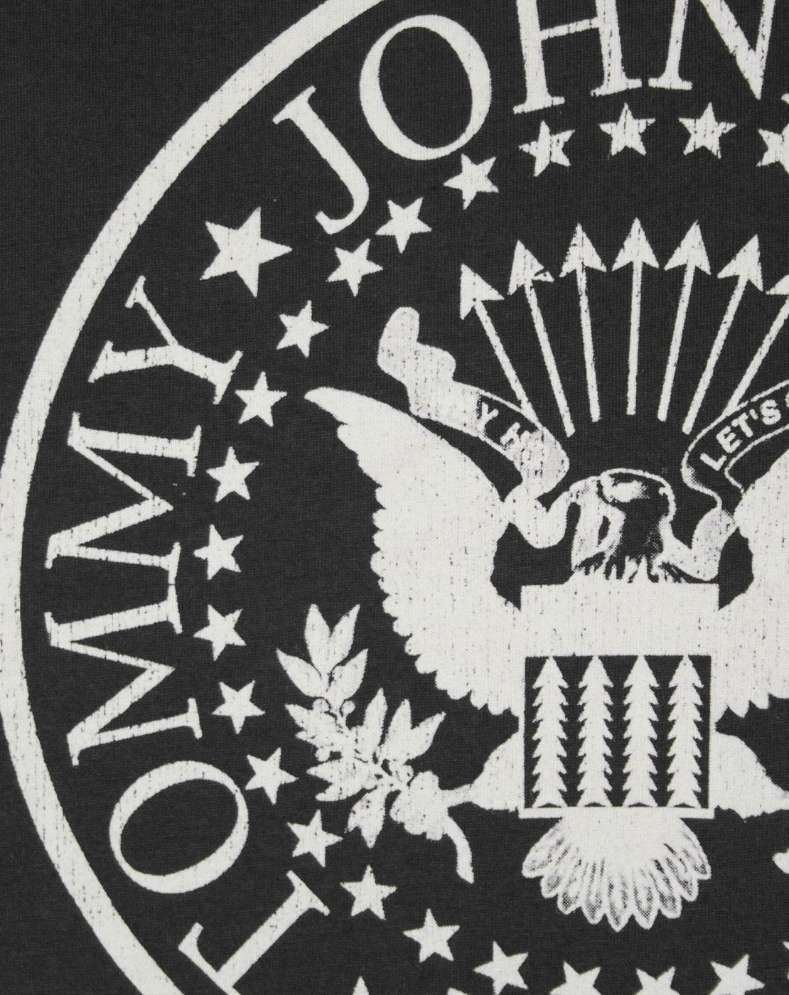Amplified-Ramones-Seal-Logo-Women-039-s-Sheer-Panel-T-Shirt thumbnail 8