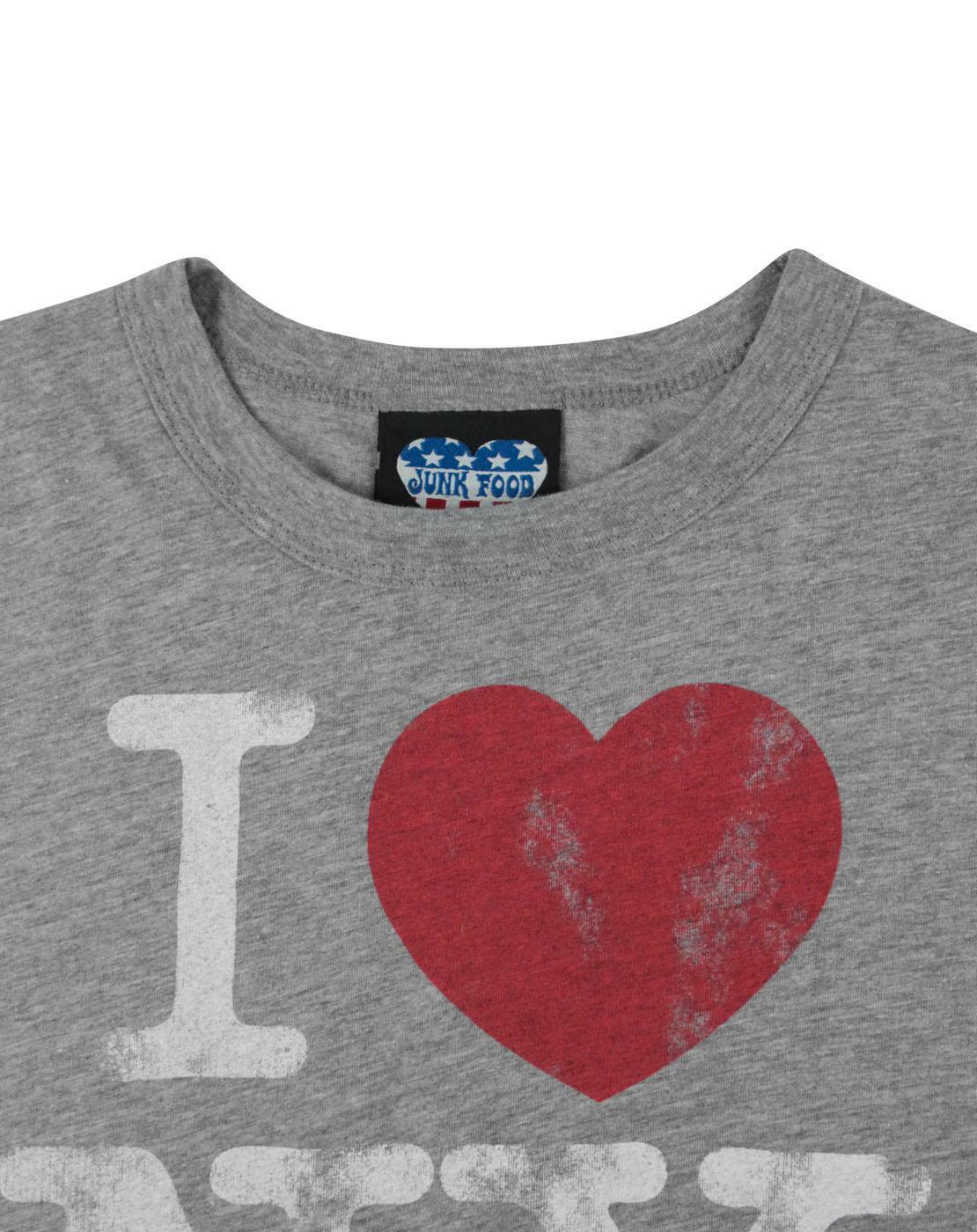 Junk-Food-I-Love-New-York-Women-039-s-T-Shirt thumbnail 8