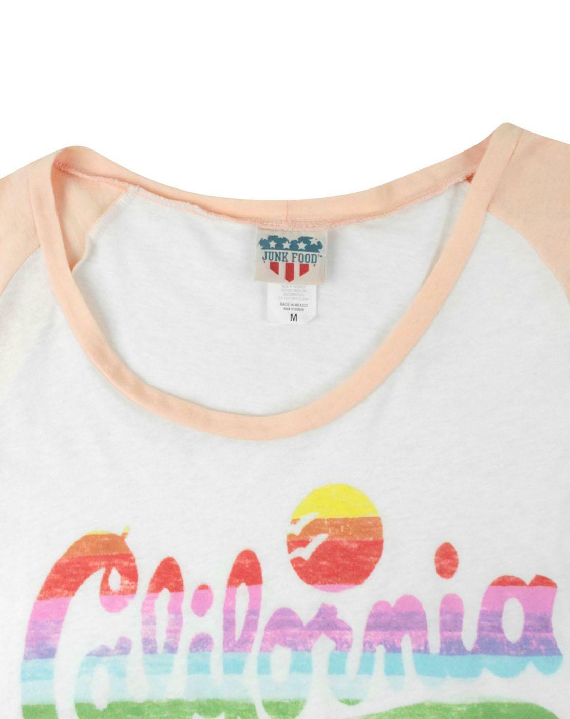 Junk-Food-California-Women-039-s-T-Shirt thumbnail 8