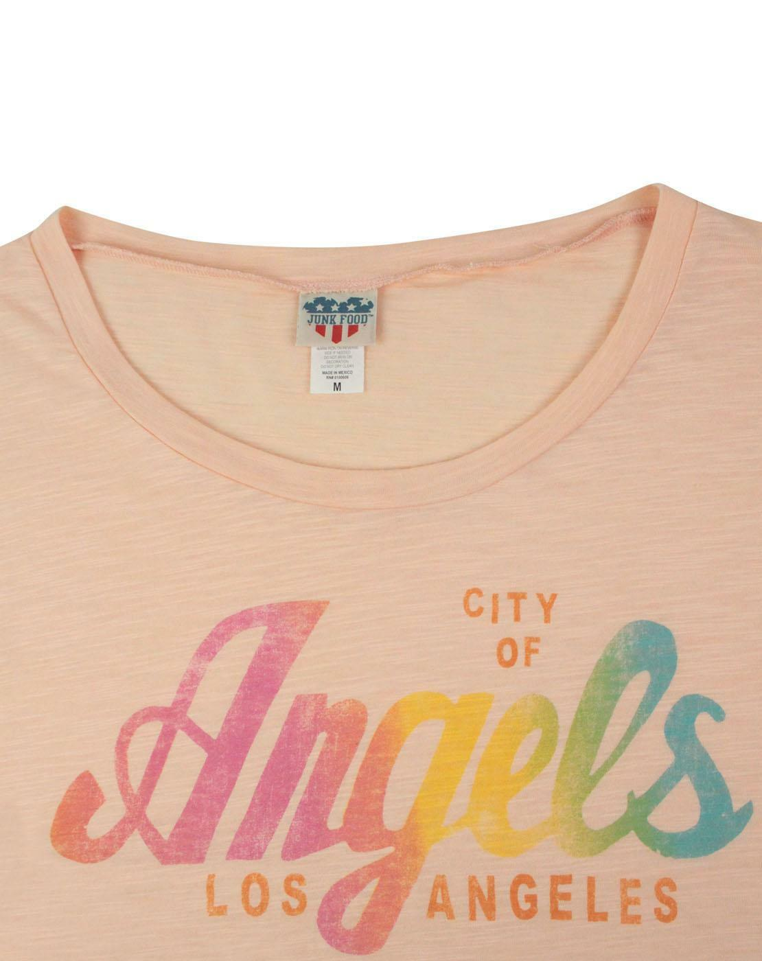 Junk-Food-Los-Angeles-City-Of-Angels-Women-039-s-T-Shirt thumbnail 8