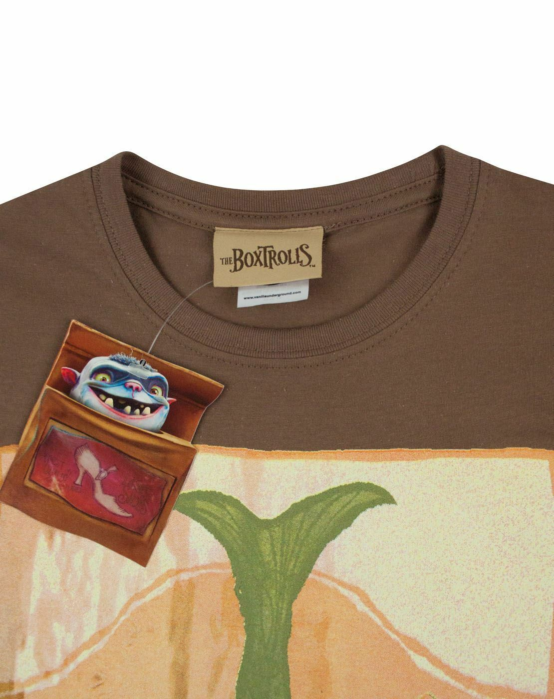 Boxtrolls-Fish-Women-039-s-T-Shirt thumbnail 9
