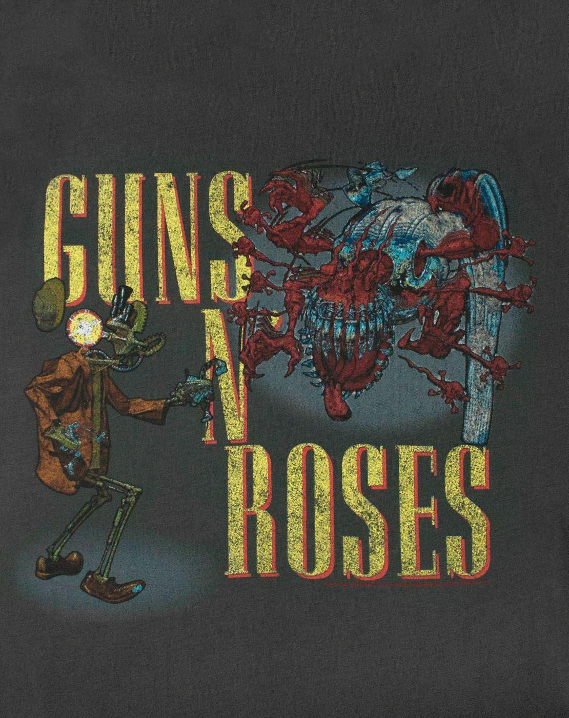 Amplified-Guns-N-Roses-Appetite-Attack-Women-039-s-T-Shirt thumbnail 8