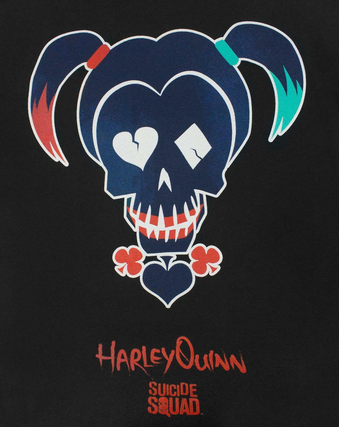 Suicide-Squad-Harley-Quinn-Icon-Women-039-s-T-Shirt thumbnail 6