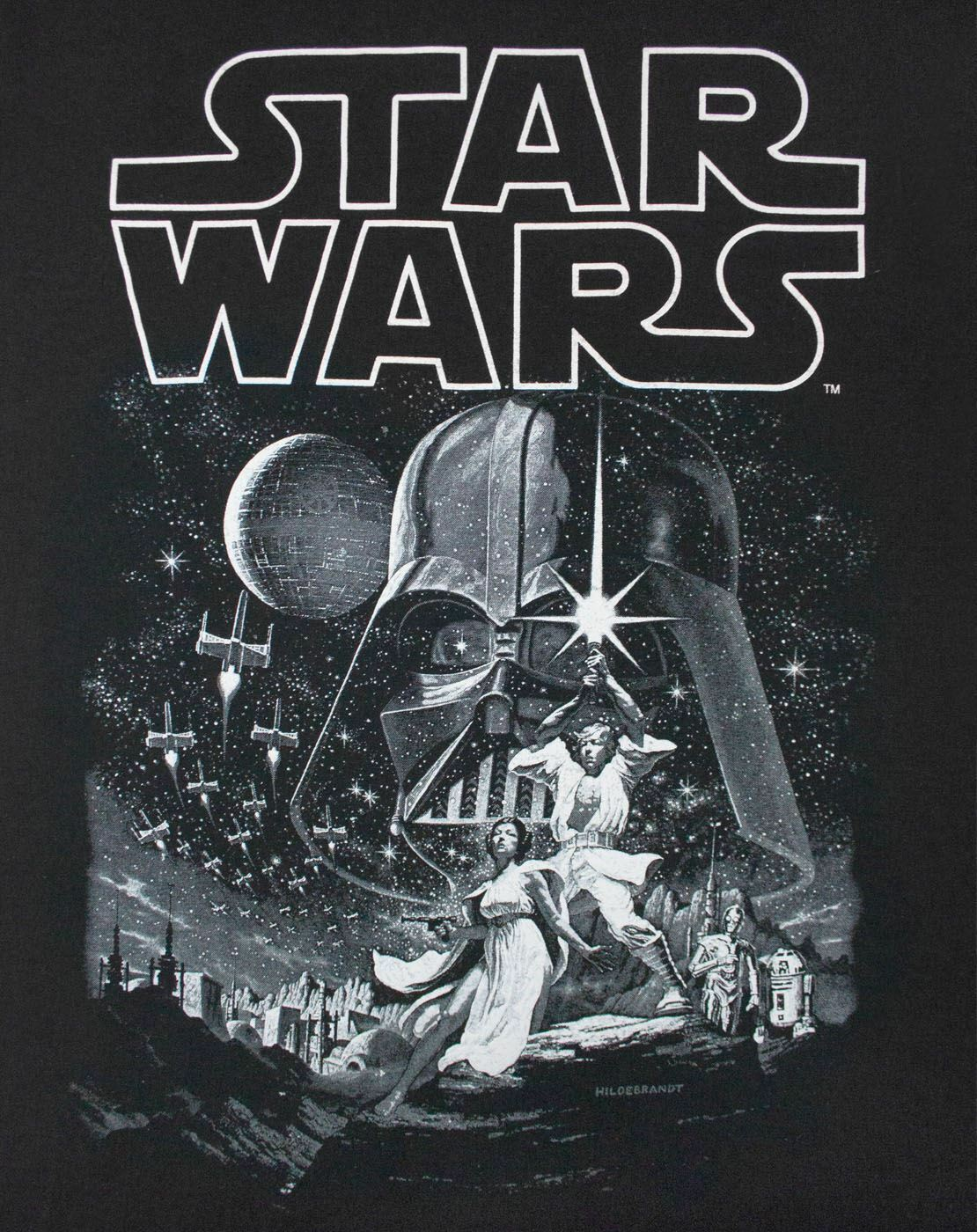 thumbnail 9 - Star-Wars-A-New-Hope-Poster-Women-039-s-Black-Tee-T-Shirt