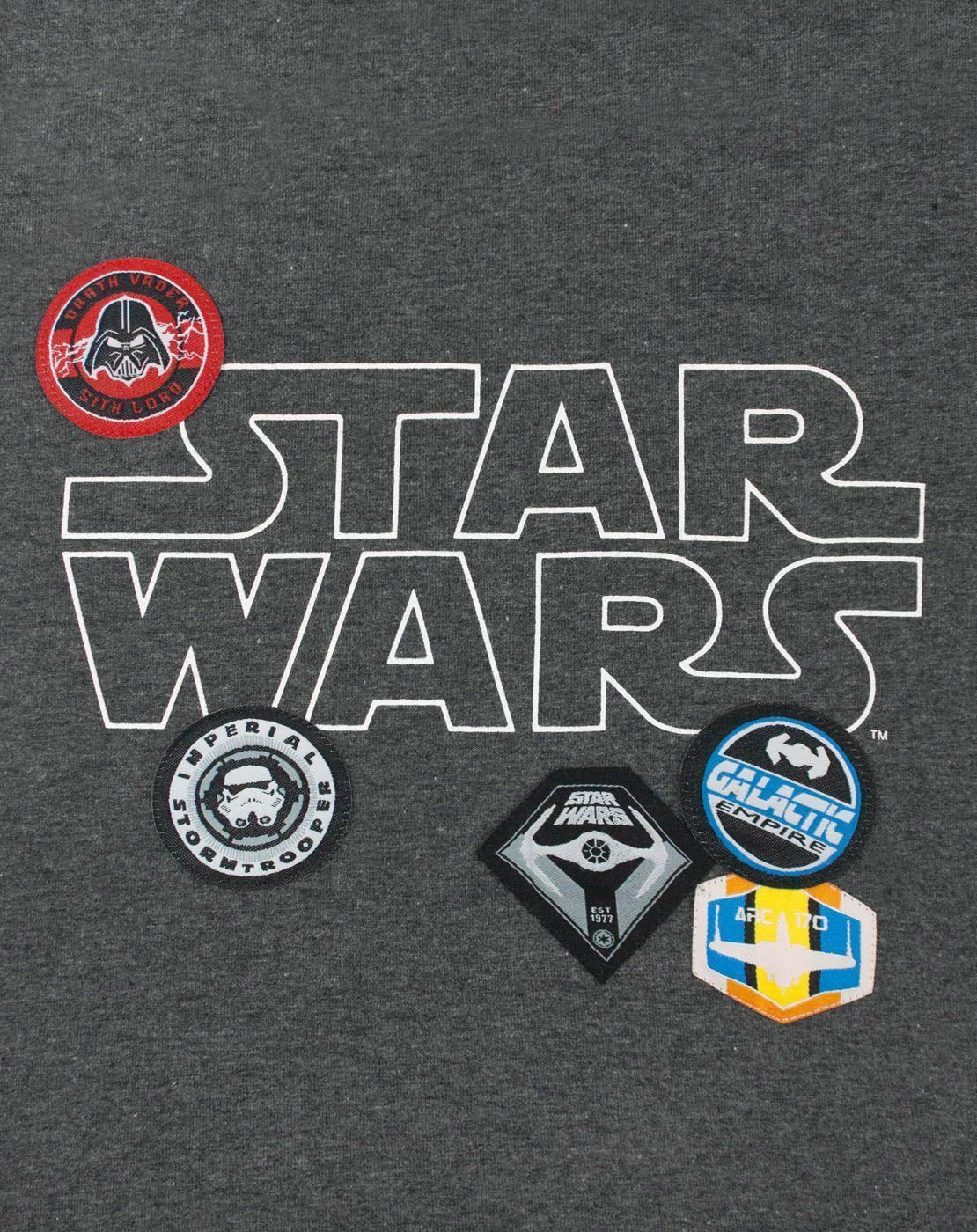 Star-Wars-Badges-Women-039-s-T-Shirt thumbnail 7