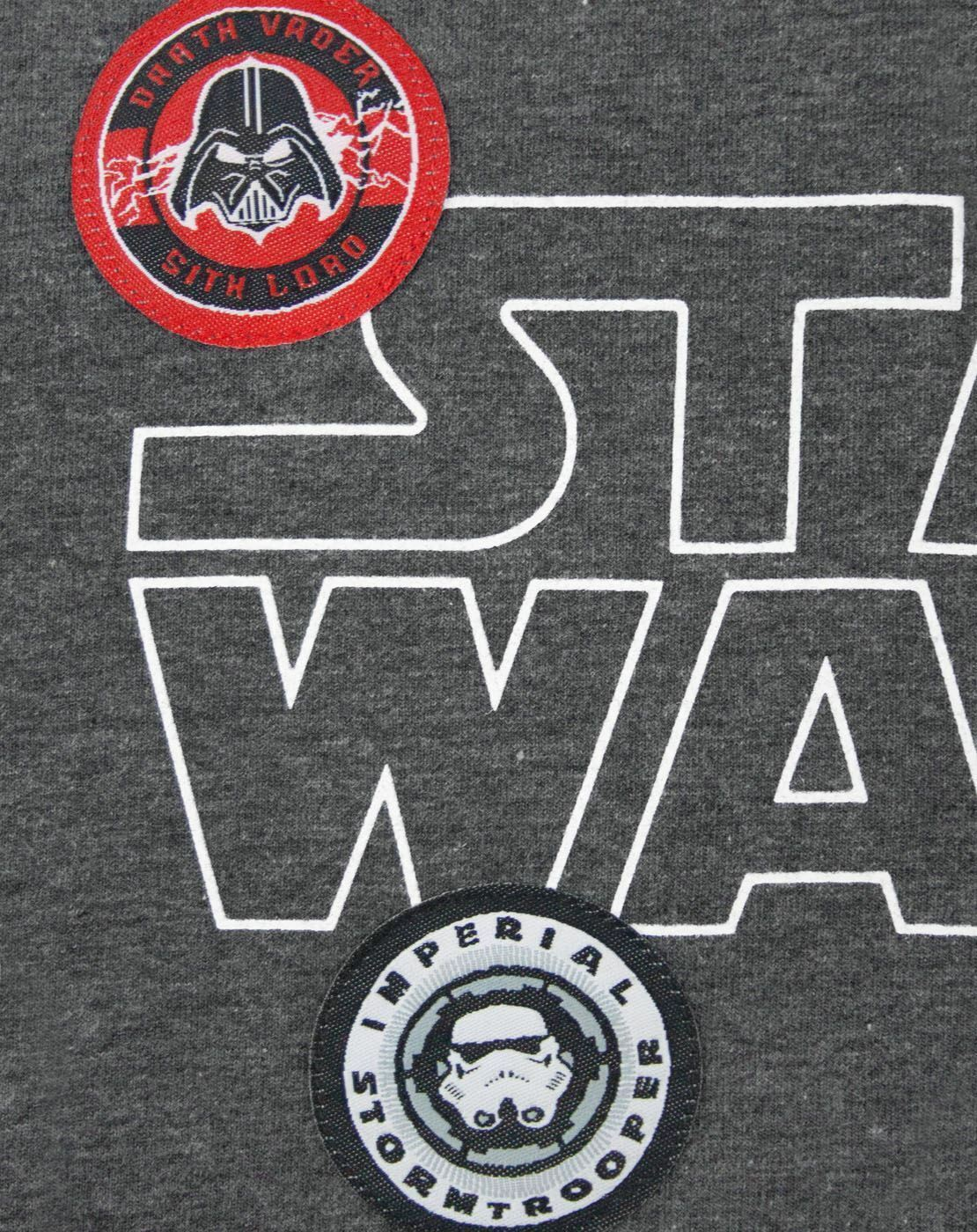 Star-Wars-Badges-Women-039-s-T-Shirt thumbnail 9