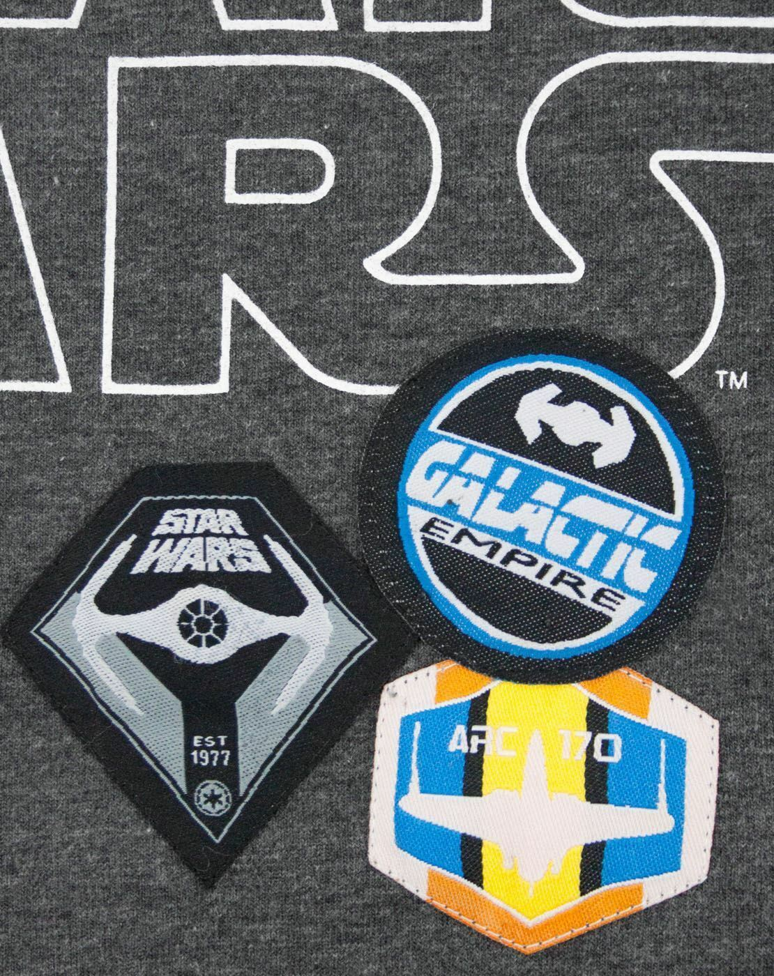 Star-Wars-Badges-Women-039-s-T-Shirt thumbnail 8