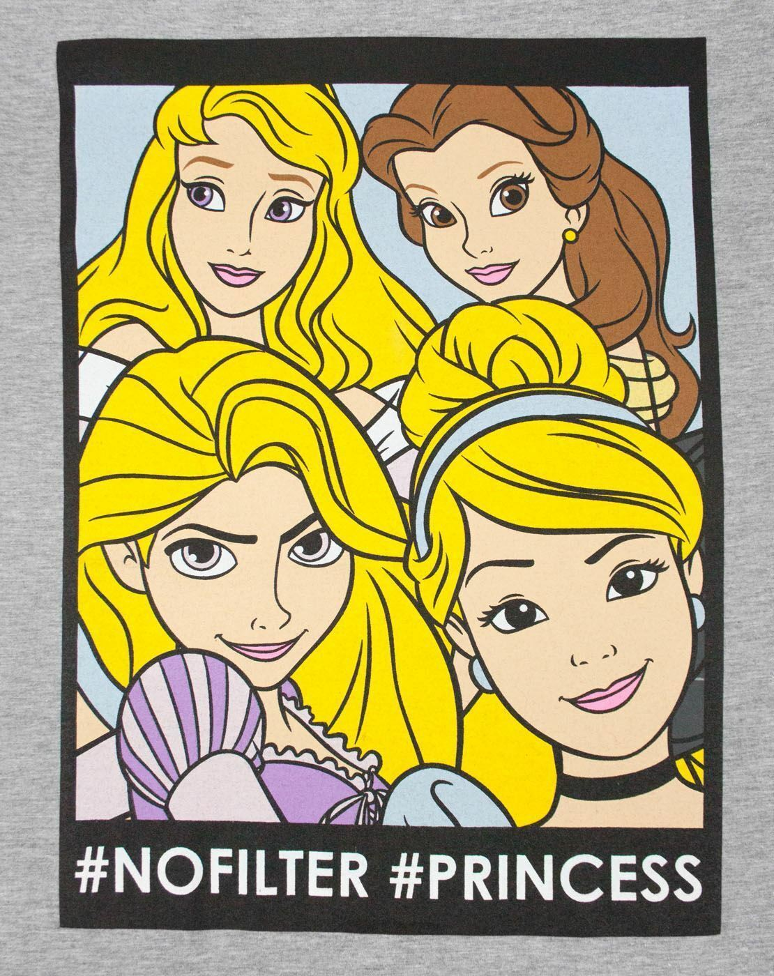 thumbnail 19 - Disney-Princess-No-Filter-Women-039-s-T-Shirt