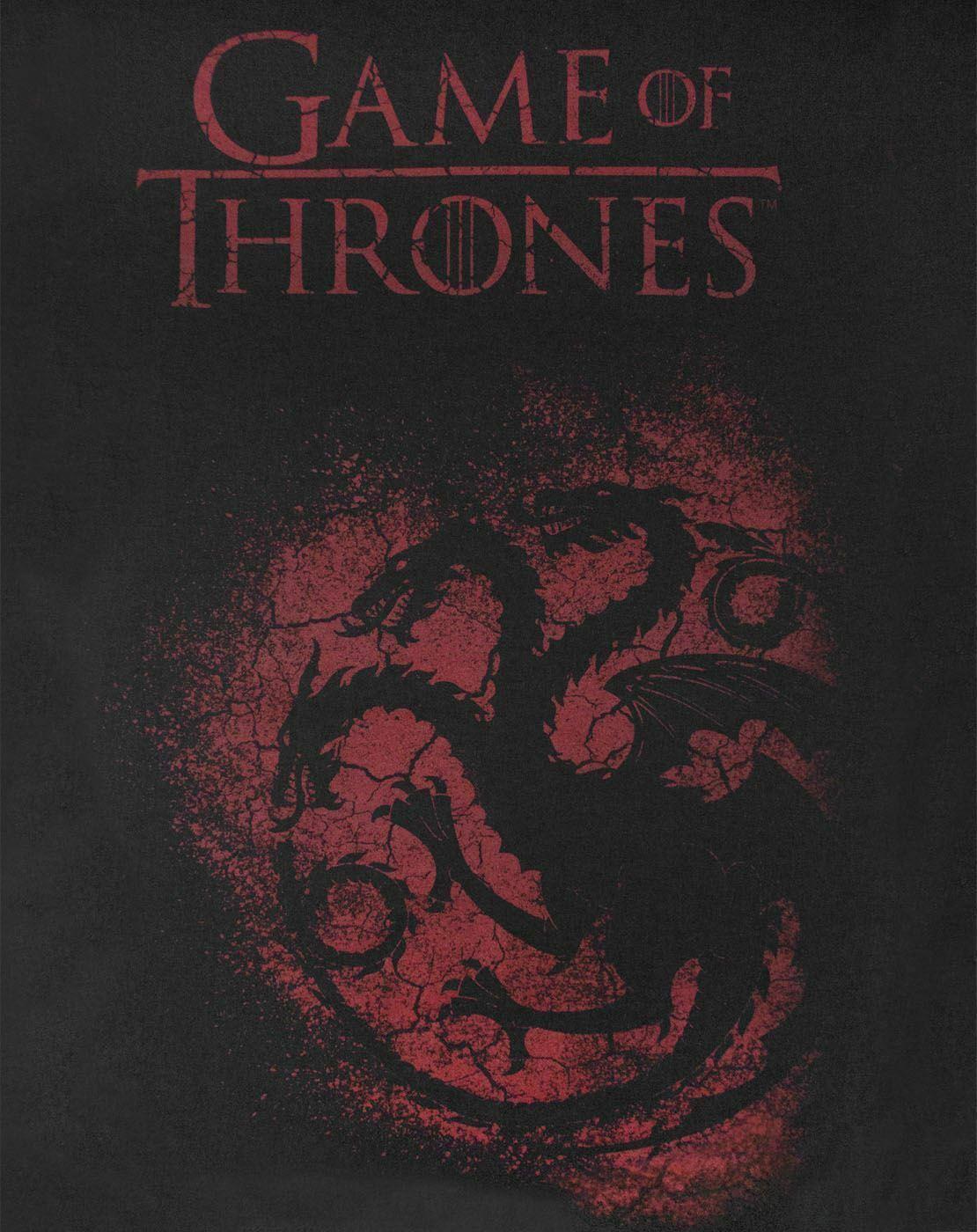 Game-Of-Thrones-House-Targaryen-Women-039-s-T-Shirt thumbnail 7