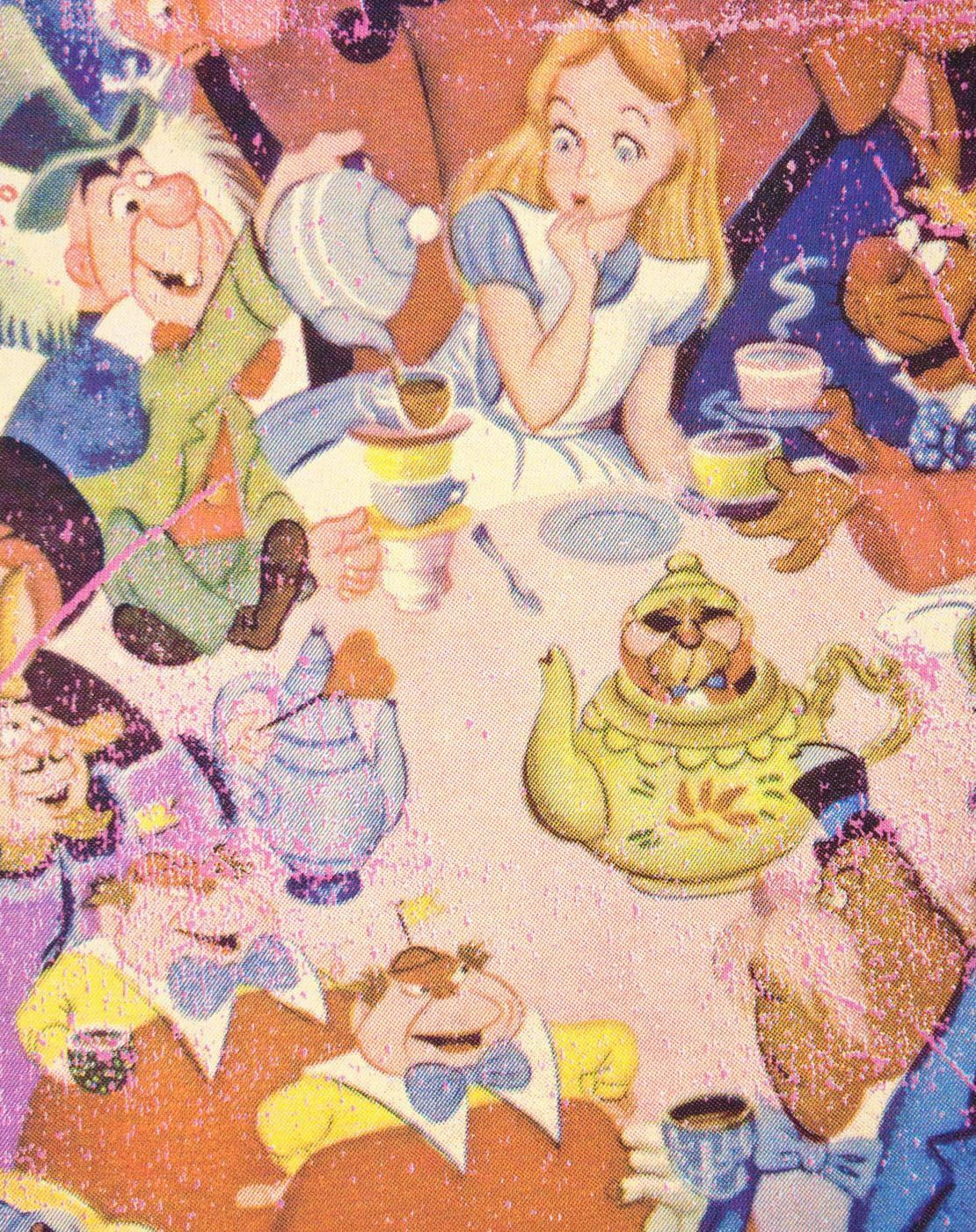 Alice-In-Wonderland-Poster-Women-039-s-T-Shirt thumbnail 7