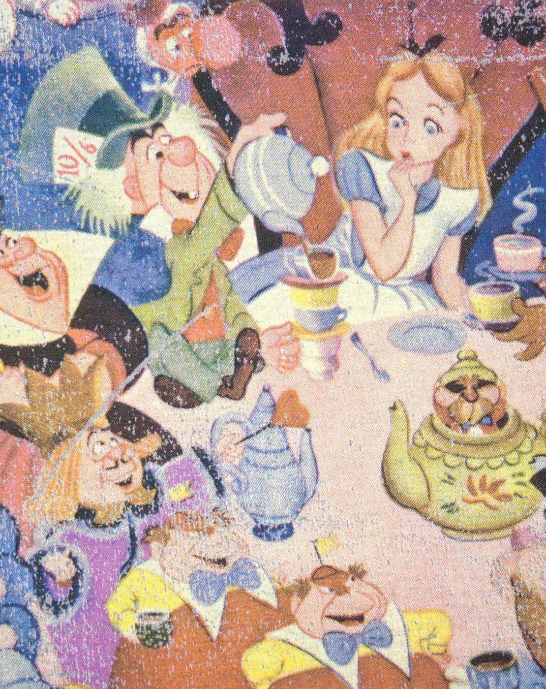 thumbnail 6 - Alice-In-Wonderland-Poster-Grey-Women-039-s-T-Shirt