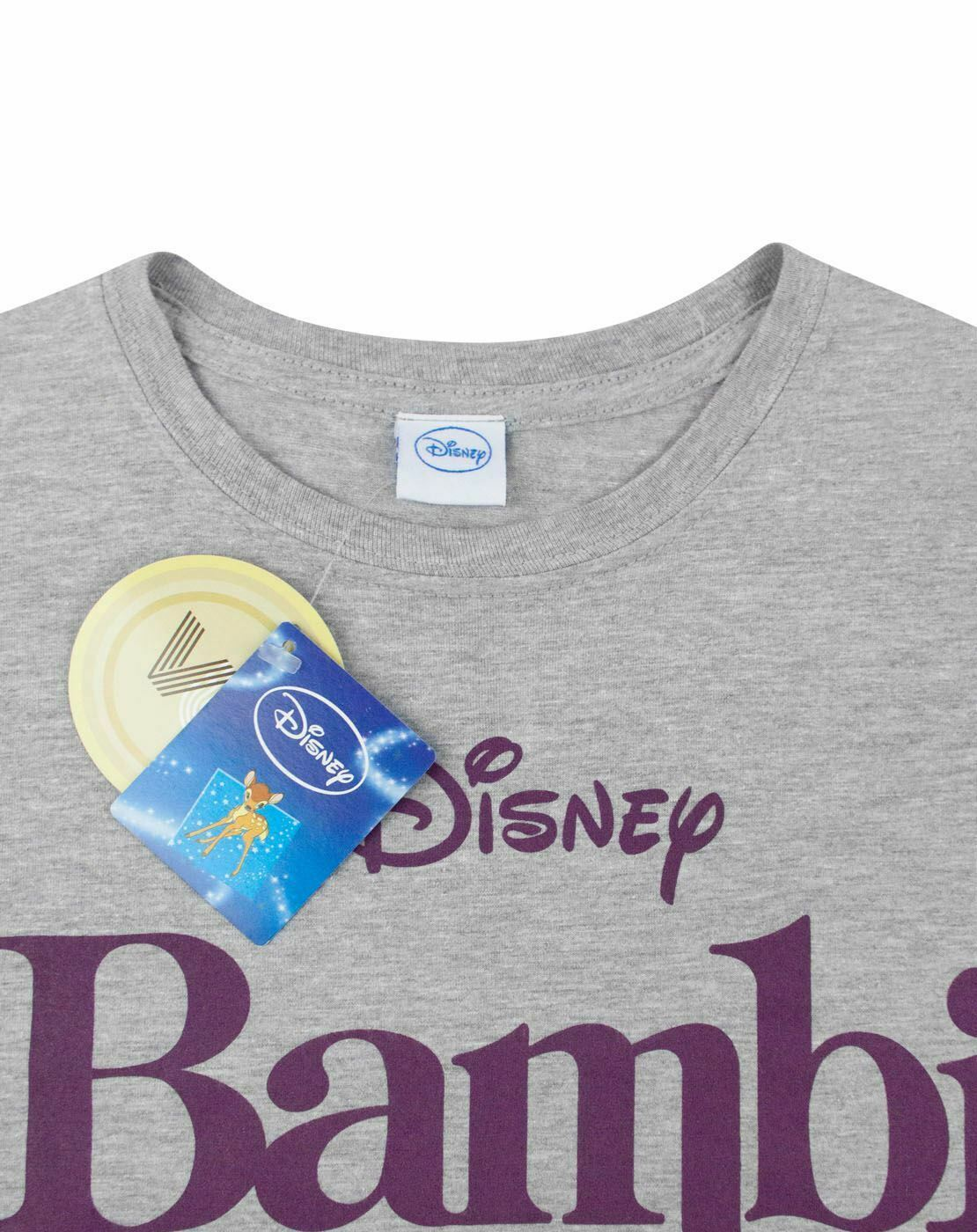 Disney-Bambi-Motif-Women-039-s-T-Shirt thumbnail 9