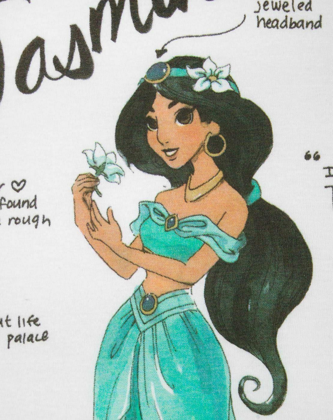 Disney-Aladdin-Jasmine-Women-039-s-T-Shirt thumbnail 8