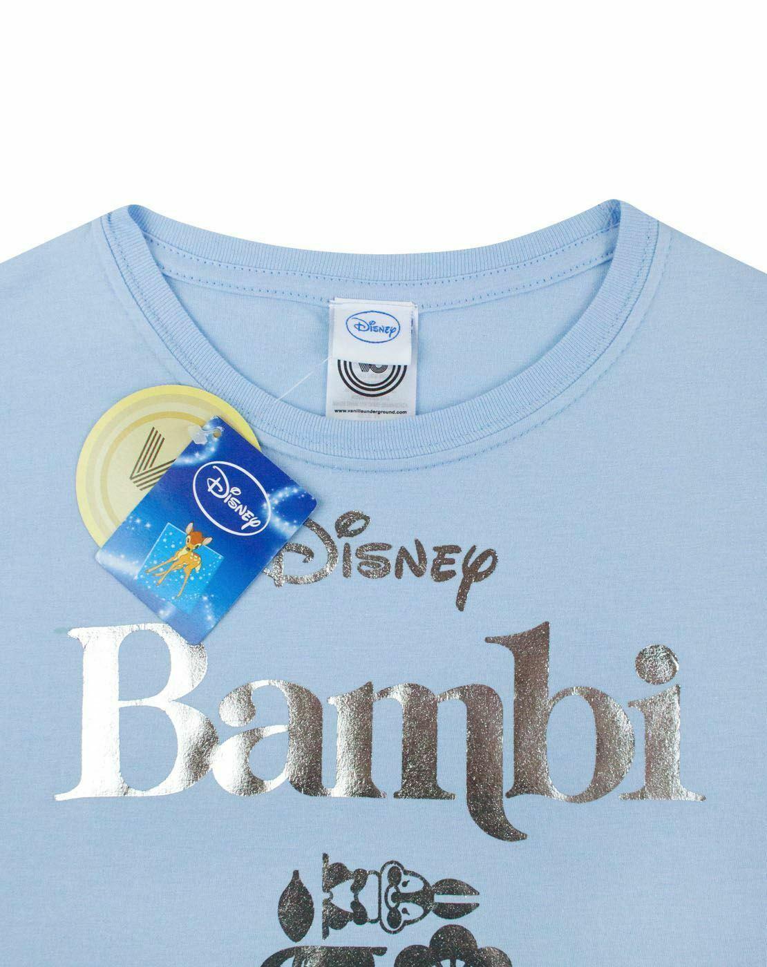 Disney-Bambi-Silver-Foil-Women-039-s-T-Shirt thumbnail 9