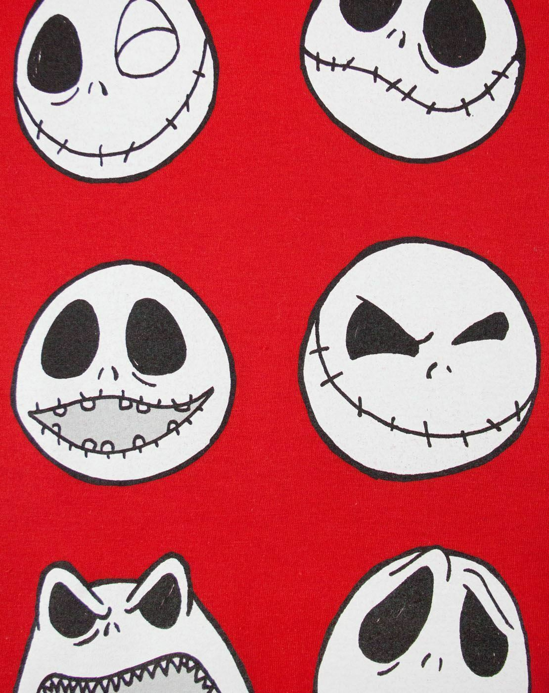 Nightmare-Before-Christmas-Jack-Expressions-Women-039-s-T-Shirt thumbnail 9