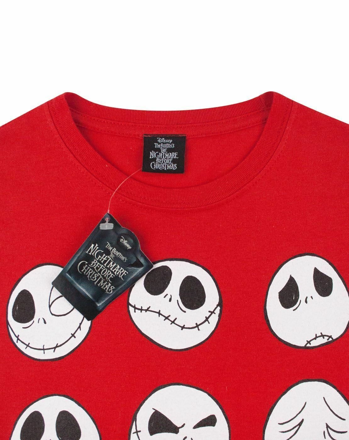 Nightmare-Before-Christmas-Jack-Expressions-Women-039-s-T-Shirt thumbnail 10