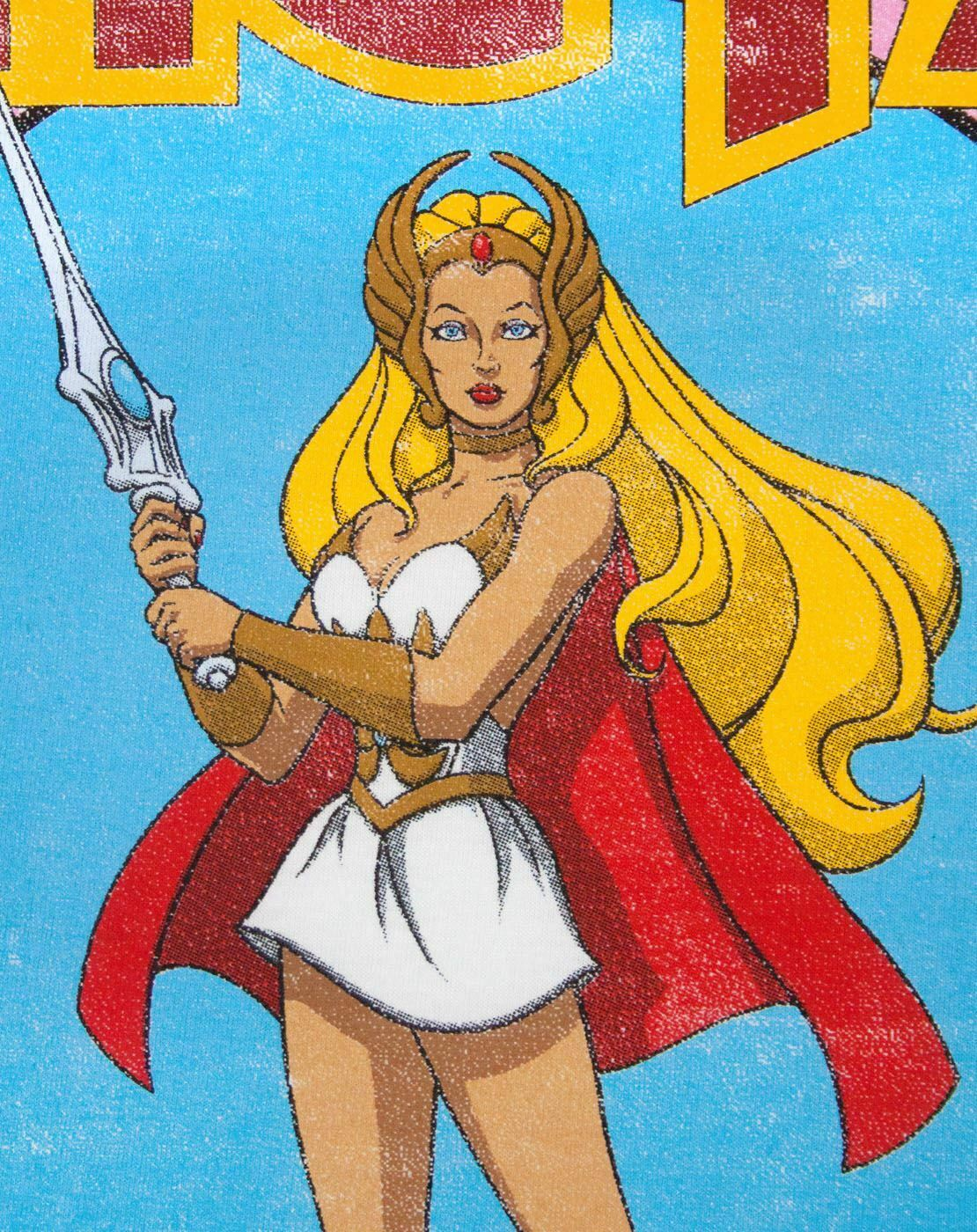 She-Ra-Princess-Of-Power-Women-039-s-T-Shirt thumbnail 7