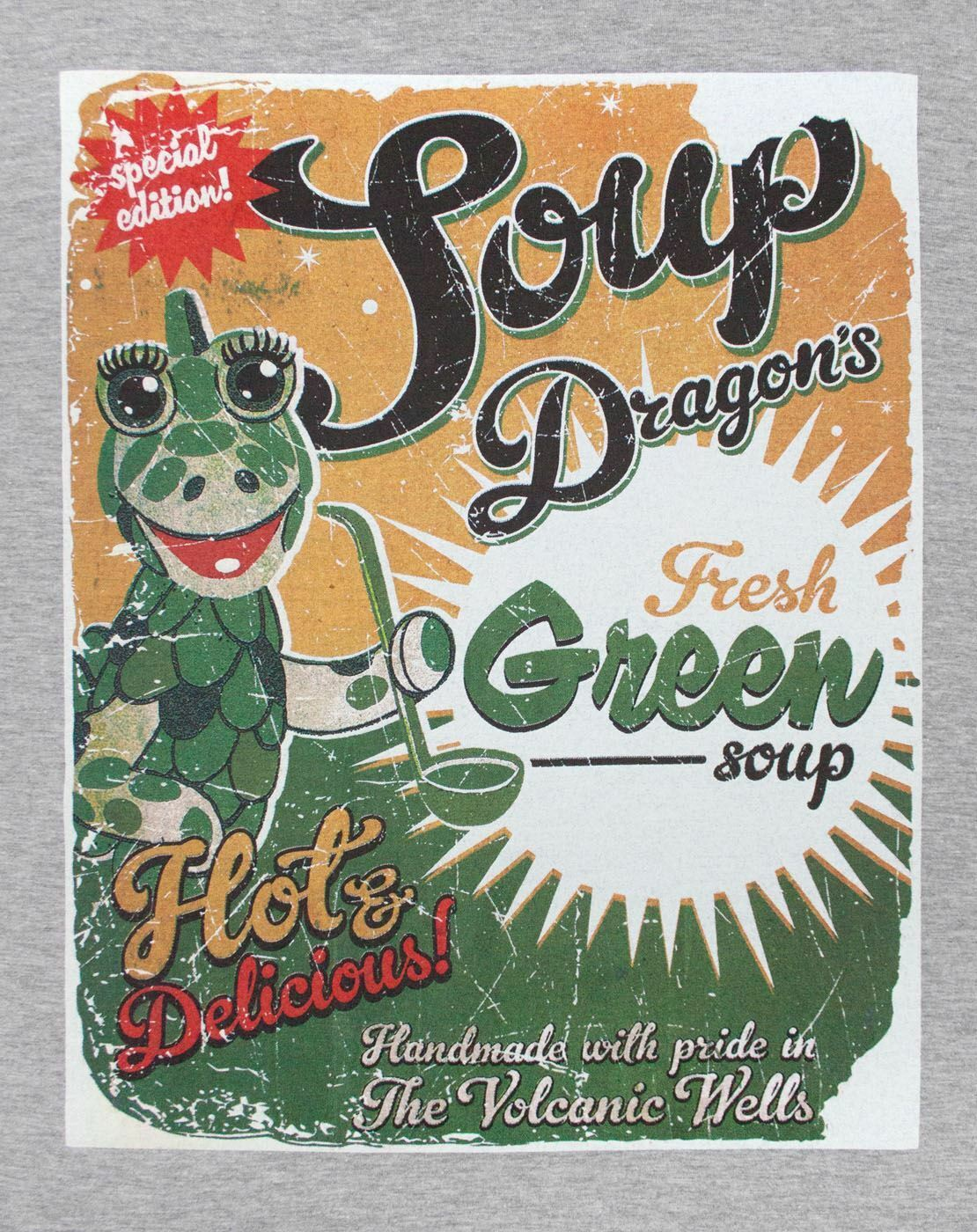 Clangers-Soup-Dragons-Green-Soup-Women-039-s-T-Shirt thumbnail 14