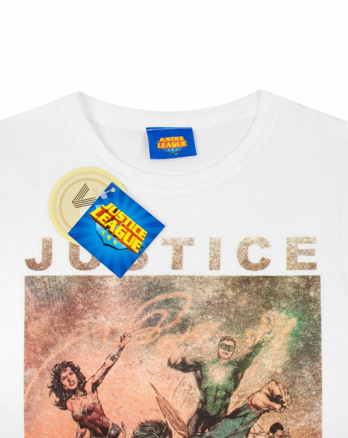 Justice-League-Characters-Action-Women-039-s-T-Shirt thumbnail 8