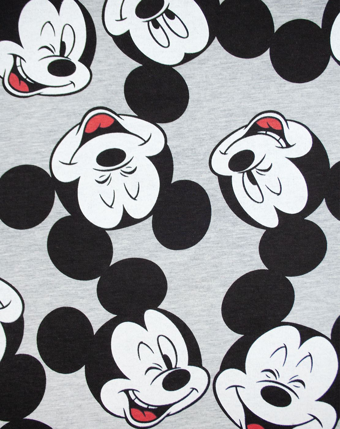 Disney-Mickey-Mouse-Character-All-Over-Women-039-s-Ladies-Boyfriend-Fit-T-Shirt thumbnail 6