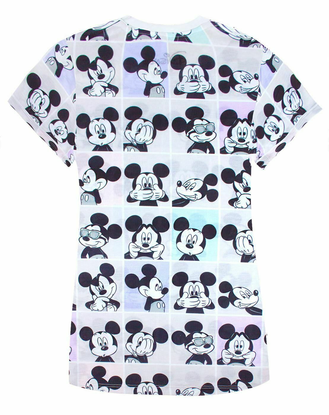 Disney-Mickey-Mouse-Photobooth-All-Over-Print-Women-039-s-T-shirt thumbnail 8