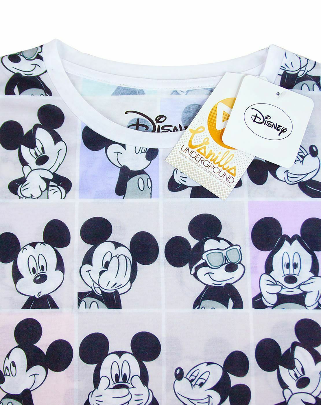 Disney-Mickey-Mouse-Photobooth-All-Over-Print-Women-039-s-T-shirt thumbnail 9