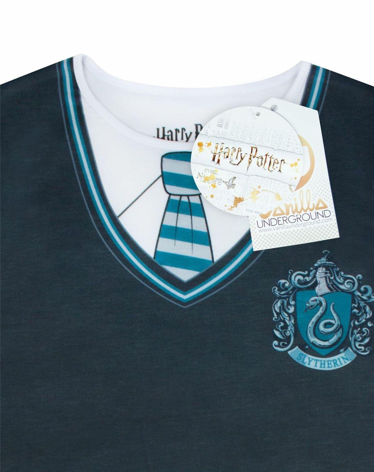 Harry-Potter-Slytherin-Costume-Womens-T-Shirt thumbnail 9