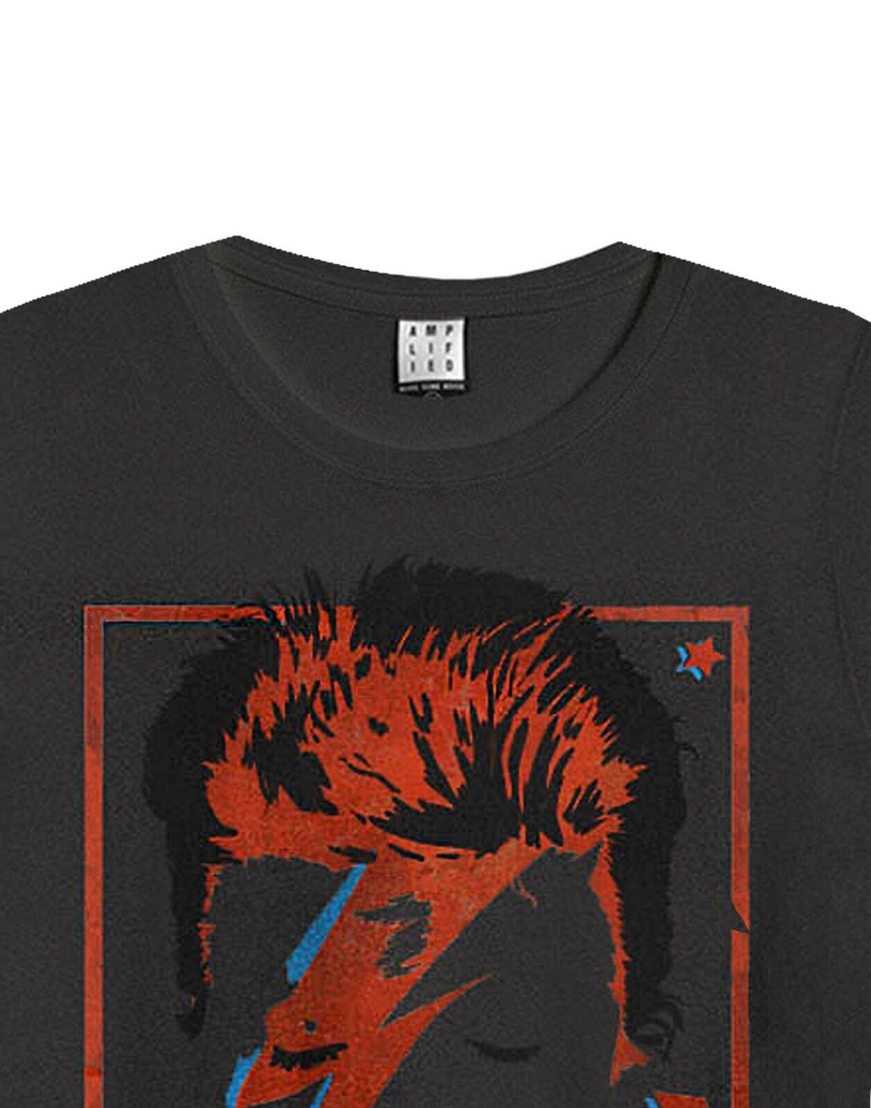 Amplified David Bowie Aladdin Sane Mens T-Shirt