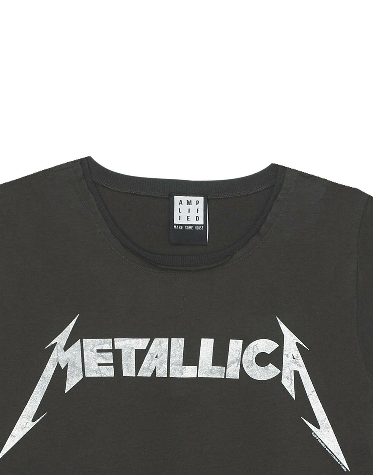 Amplified-Metallica-Logo-Womens-T-Shirt thumbnail 9
