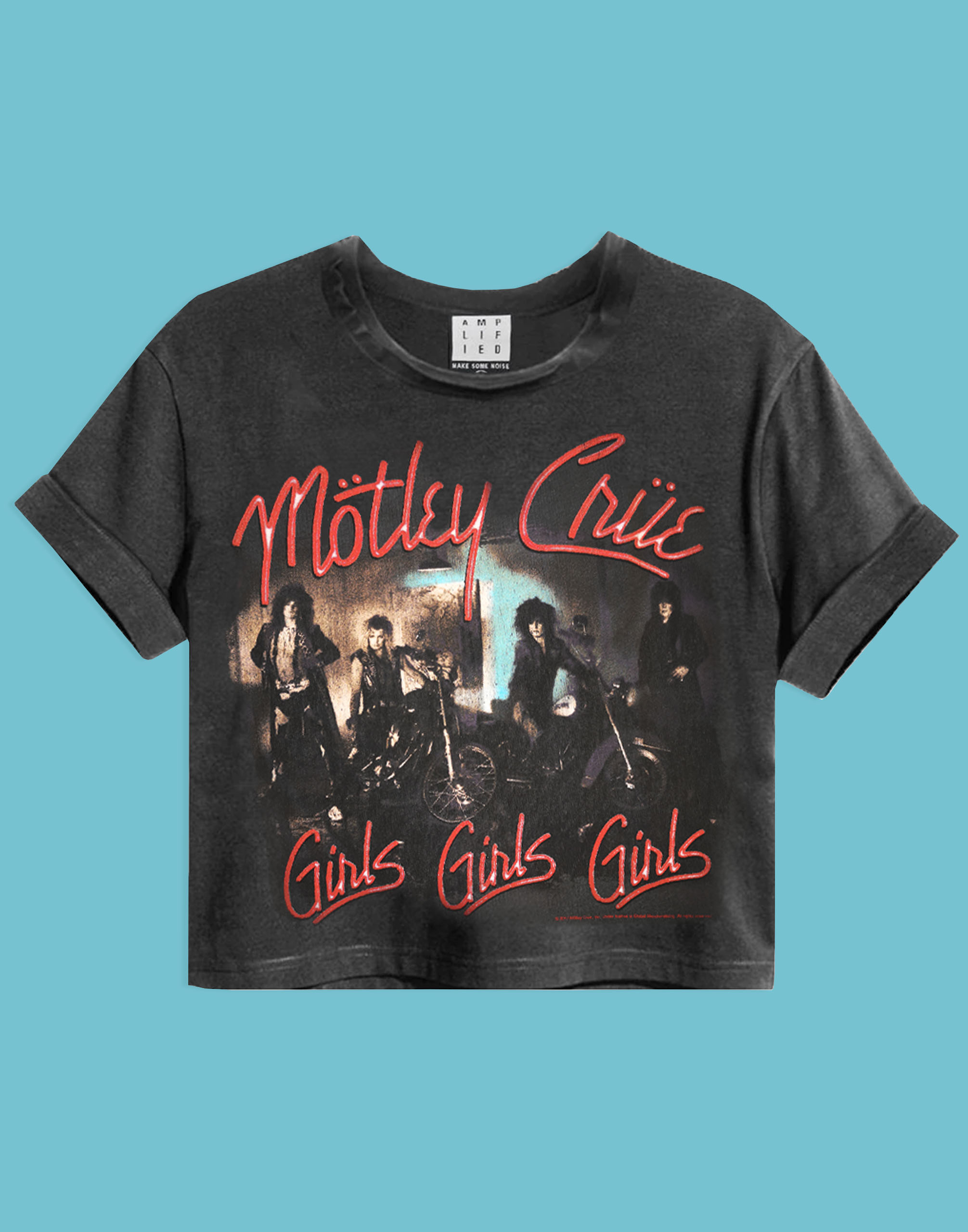 Amplified Motley Crew T-shirt pour fille