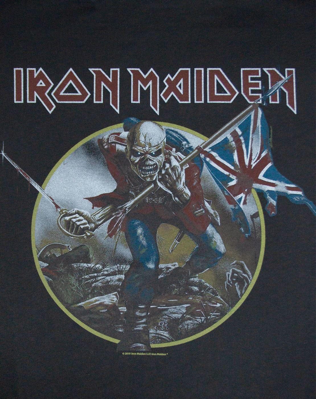 Amplified Iron Maiden Trooper Womens Vest