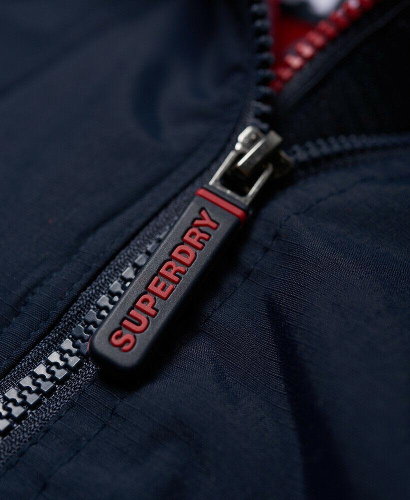 Mens-Superdry-Hooded-Polar-SD-Windattacker-Jacket-Core-Navy thumbnail 12
