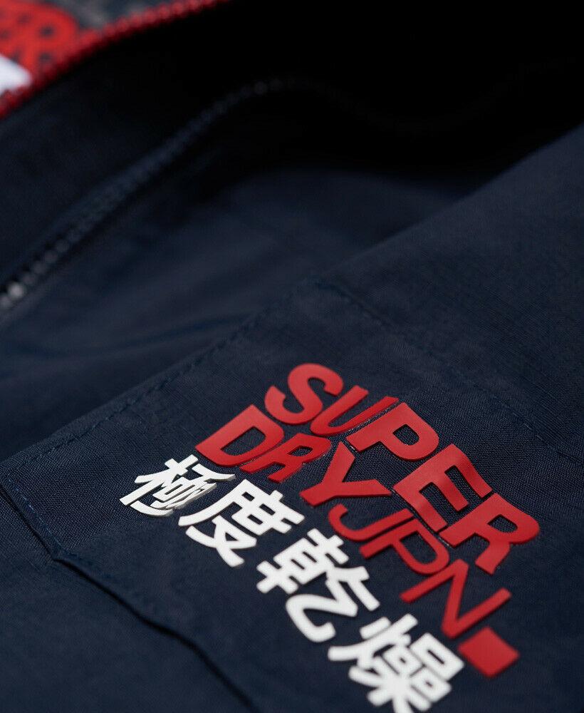 Mens-Superdry-Hooded-Polar-SD-Windattacker-Jacket-Core-Navy thumbnail 13