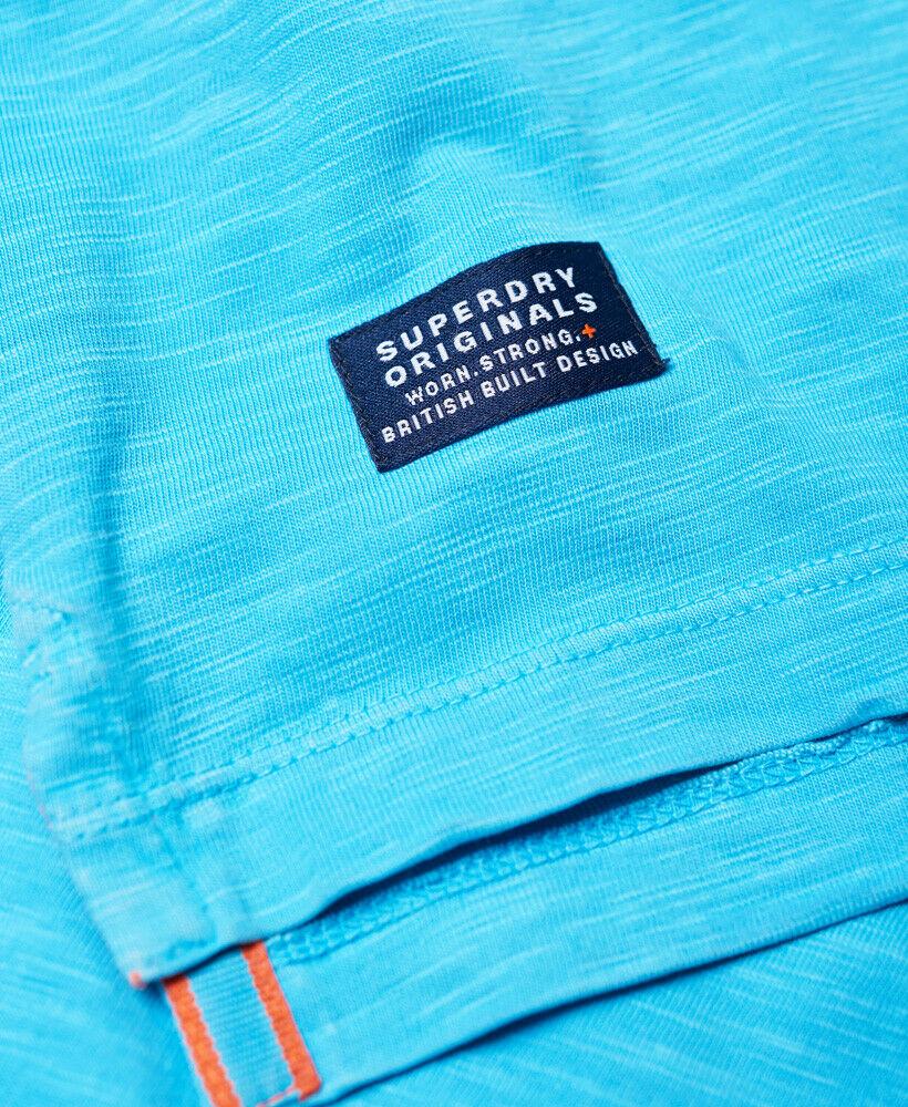 Mens-Superdry-Dry-Originals-Pocket-T-Shirt-Dry-Cirrus thumbnail 12