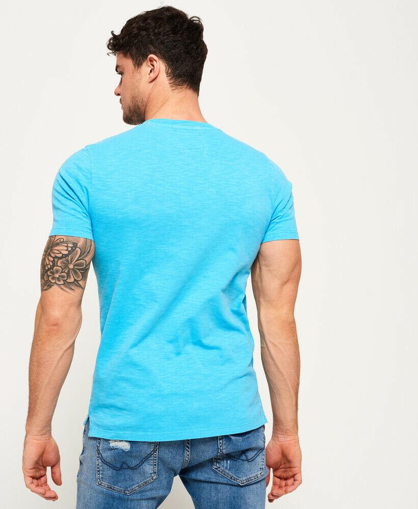 Mens-Superdry-Dry-Originals-Pocket-T-Shirt-Dry-Cirrus thumbnail 16