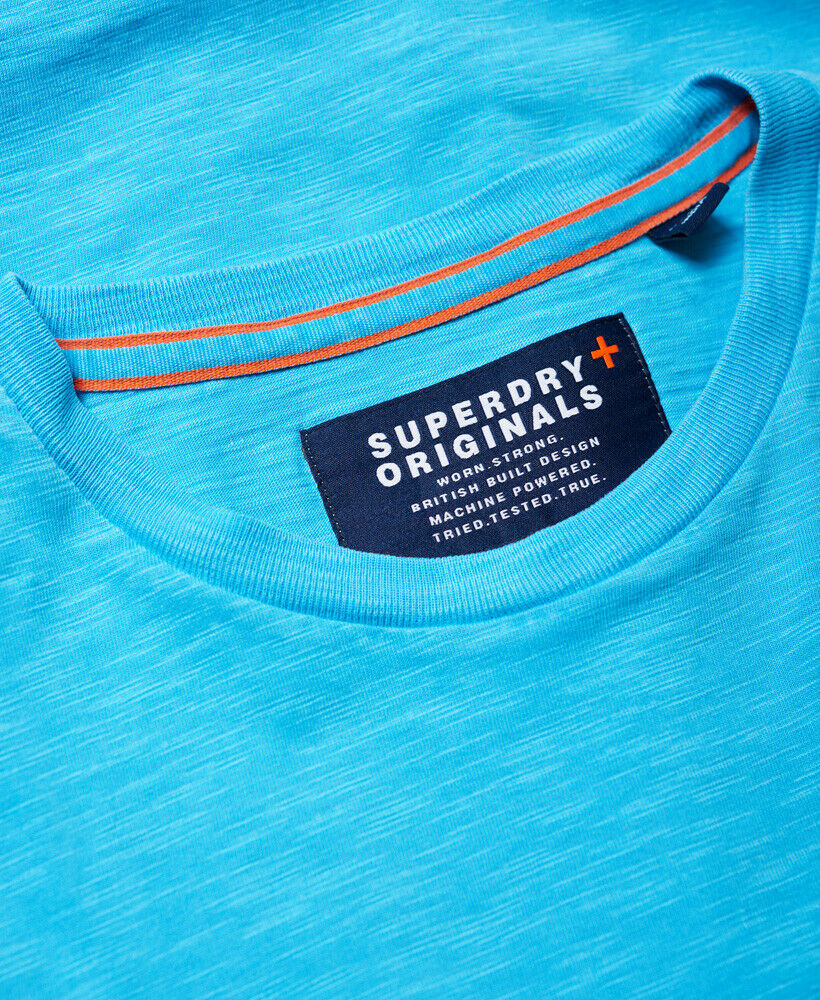 Mens-Superdry-Dry-Originals-Pocket-T-Shirt-Dry-Cirrus thumbnail 11