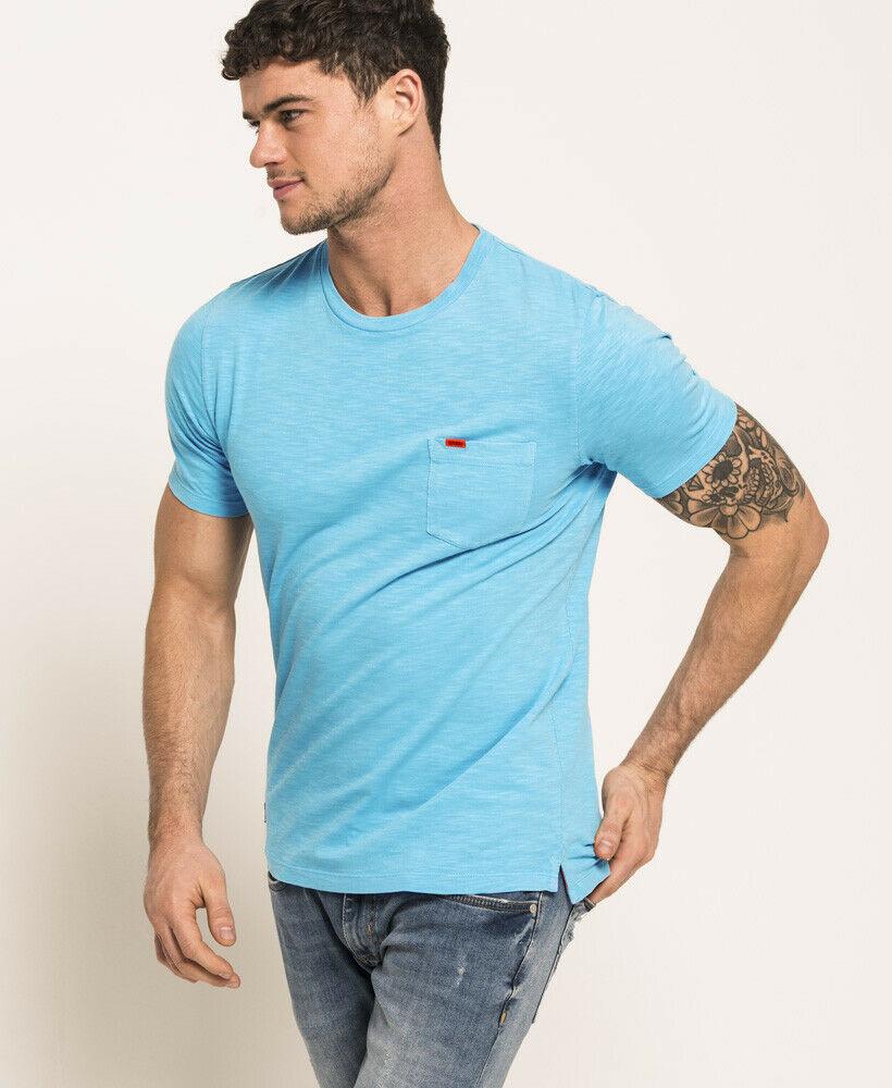 Mens-Superdry-Dry-Originals-Pocket-T-Shirt-Dry-Cirrus thumbnail 21