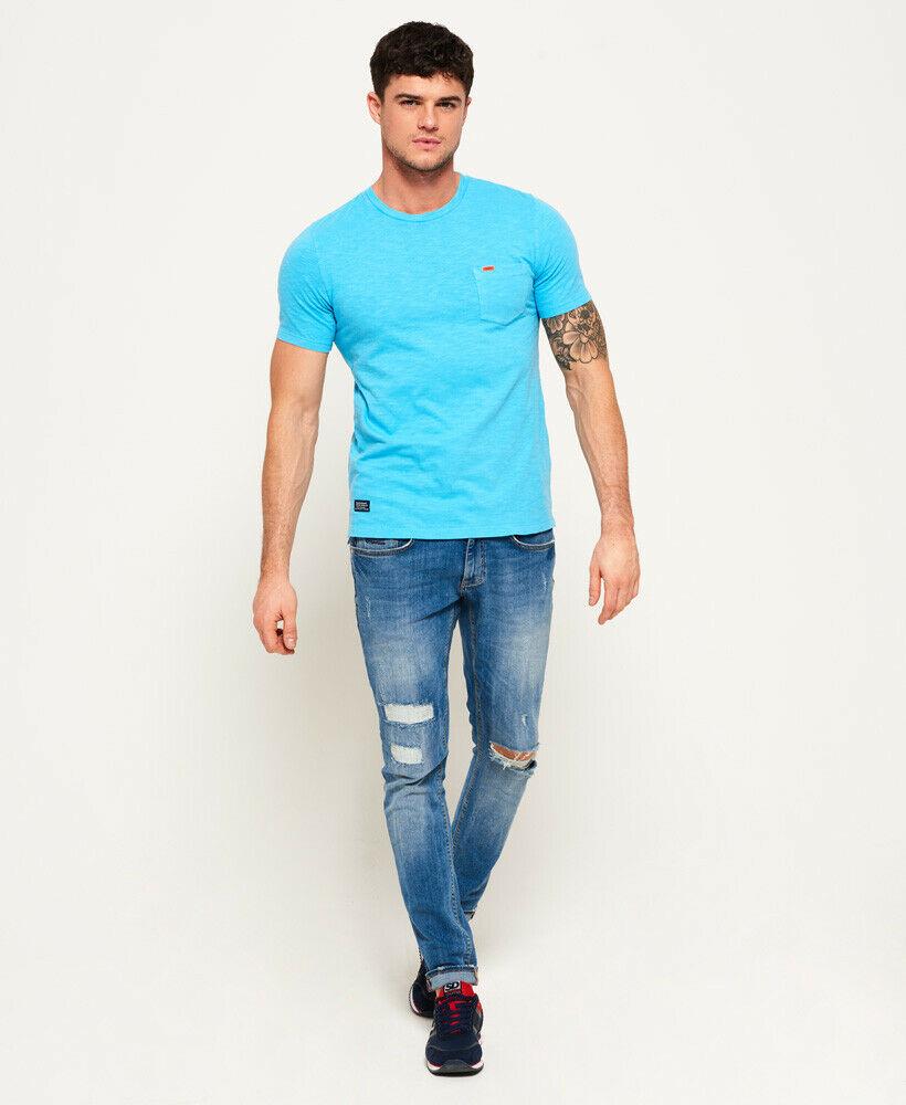 Mens-Superdry-Dry-Originals-Pocket-T-Shirt-Dry-Cirrus thumbnail 38