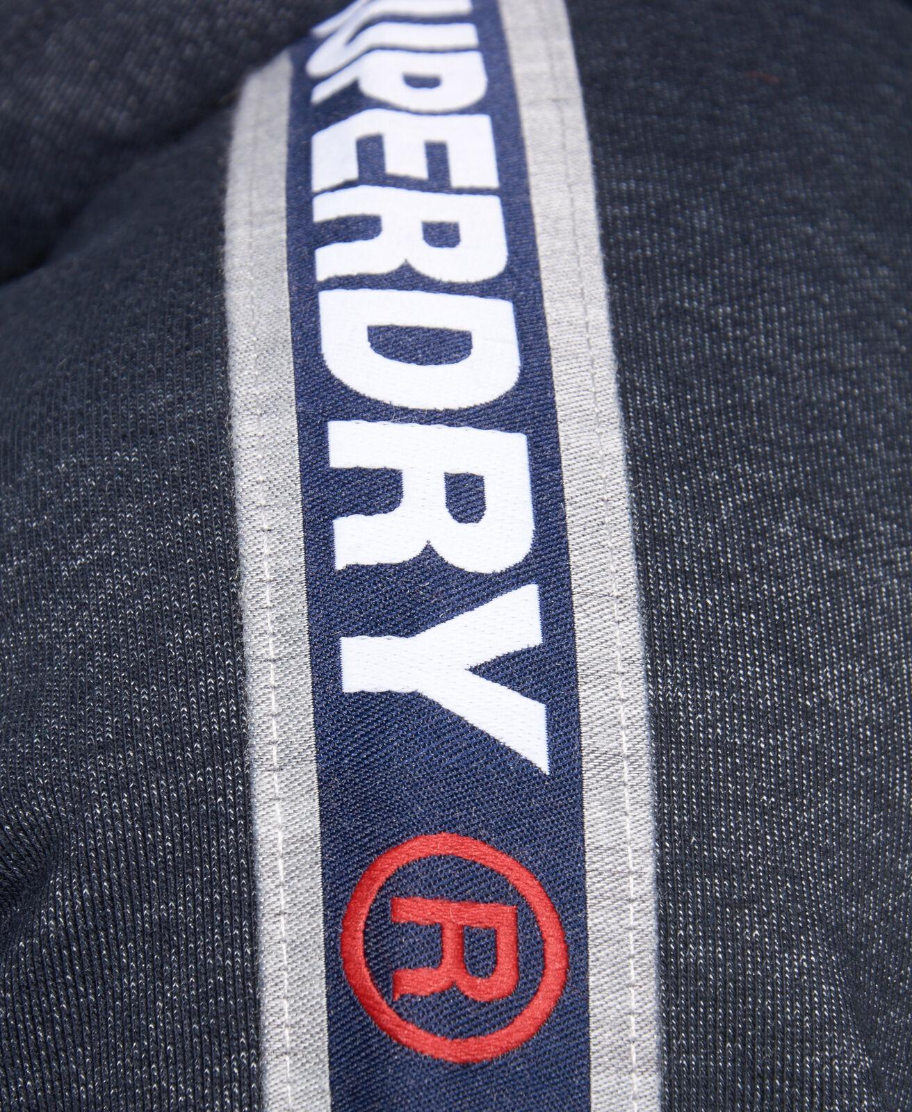 Superdry Men/'s Grey Grit Stadium 1//2 Zip Pullover Hoodie
