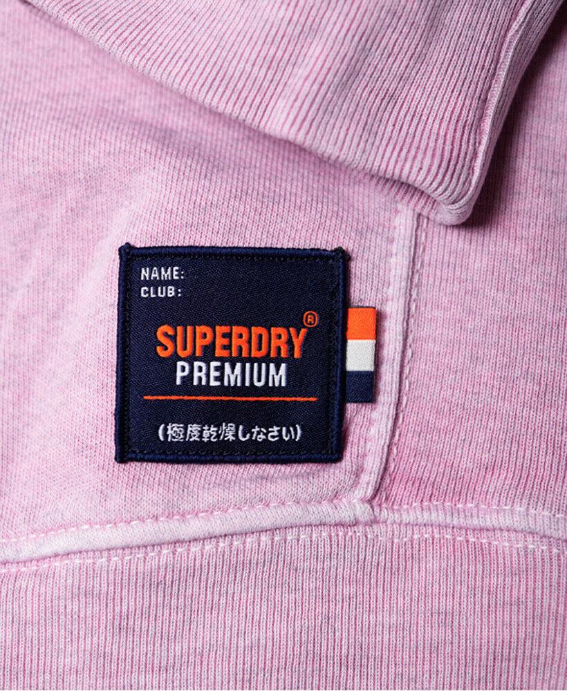Mens-Superdry-Dry-Originals-Crew-Sweatshirt-Powder-Pink thumbnail 28
